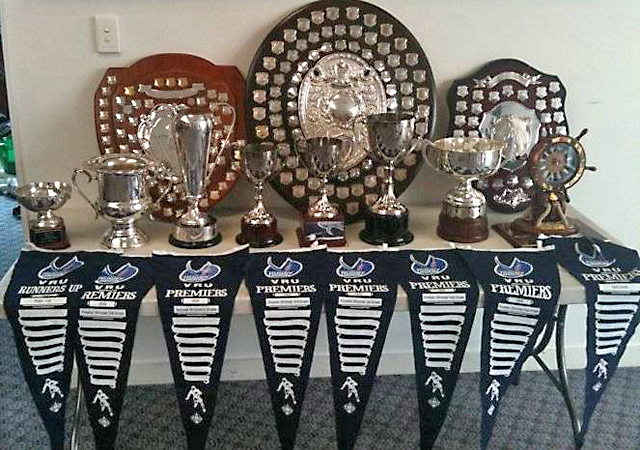 Melbourne Rugby Union Club Trophies