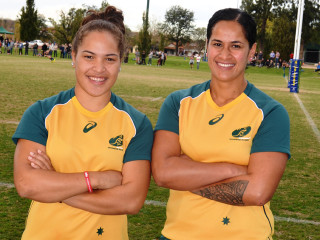 Ashley Masters & Oneata Schwalger Wallaroos