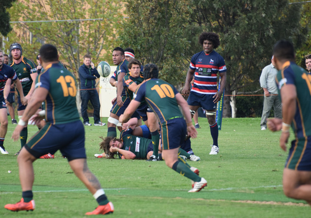 Melbourne v Box Hill Rd 3 Dewar Shield 2015