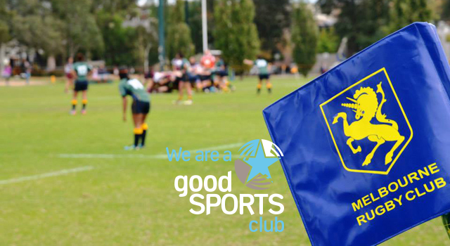 Melbourne Rugby Club Good Sports Level 3