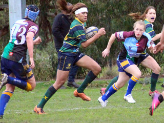 Women's Rugby Semi Final 2015 Melbourne v Quins Souths