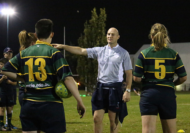 Women's Rugby Union Training Melbourne