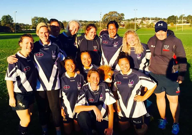 Women's Rugby State Team 2016