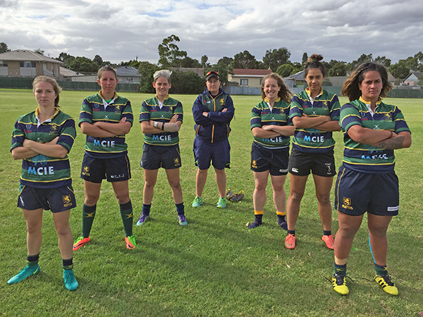 Melbourne Rugby Club Women's State Representatives 2017
