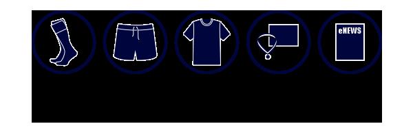 Junior Club Rugby Kit 2018
