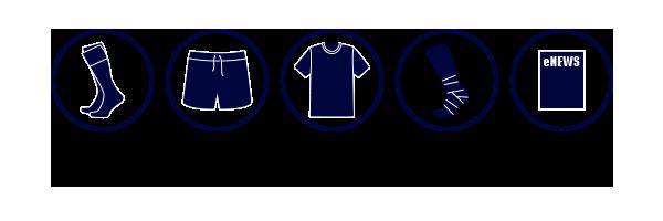 Senior Club Rugby Kit 2018