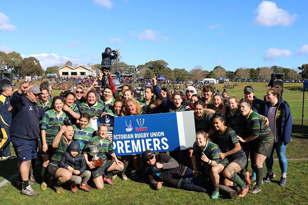 Melbourne Rugby Club Women's Rugby Premiers 2017
