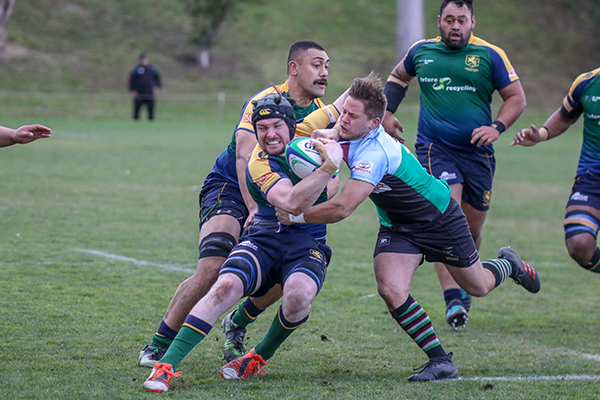 Melbourne Rugby Club Dewar Shield Grand Final 2018