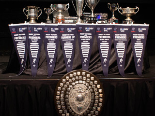 Melbourne Rugby Club Senior Trophy Cabinet 2018