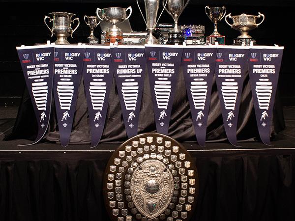 Melbourne Rugby Club Senior Trophy Cabinet 2018