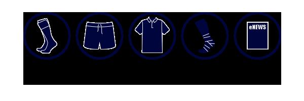 Melbourne Rugby Club Senior Kit 2019