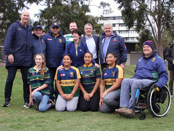Melbourne Rugby Club Sports Facilities Funding Package 2019